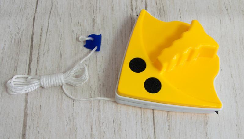 Щітка для миття вікон СамеТо Glass Wiper магнітна Жовтий (1007957-Yellow-1) - фото 5