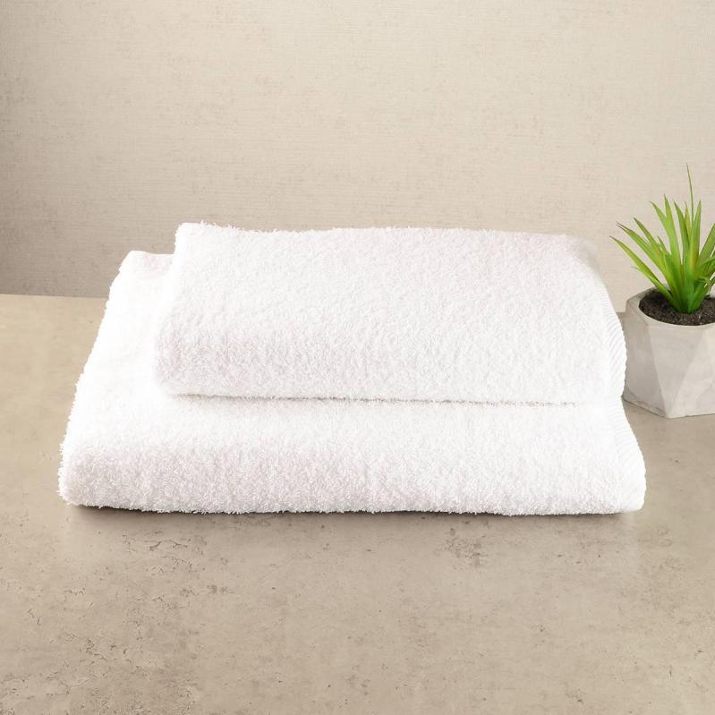Набор махровых полотенец GM Textile 50х90/70х140 см Белый - фото 1