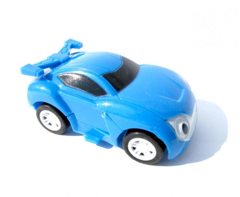 Іграшка Dabitoy Ліга Вотчкар машинка Блюввил і Джин та запускач WatchCar Синій - фото 5
