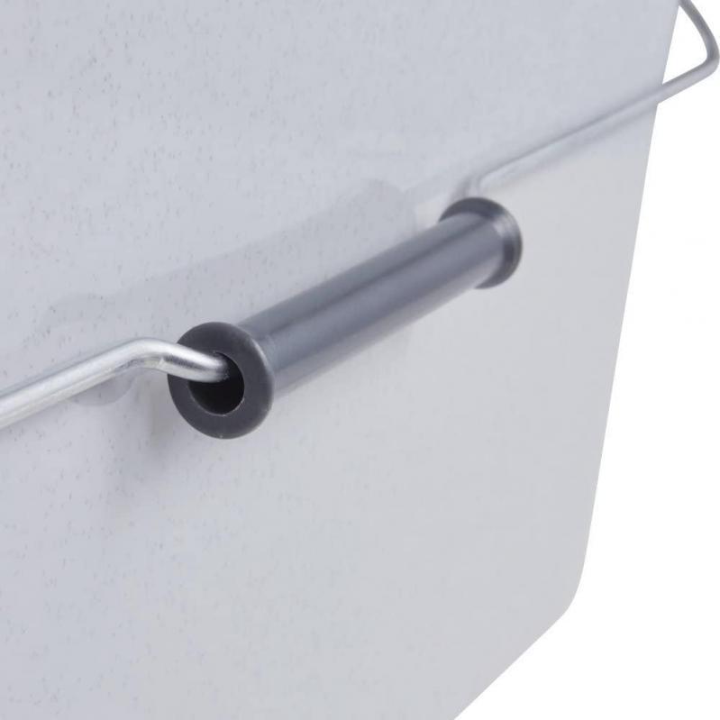 Ведро пластиковое Keeeper с металлической ручкой 44х22х22,5 см 13 л (KEE-0107) - фото 4