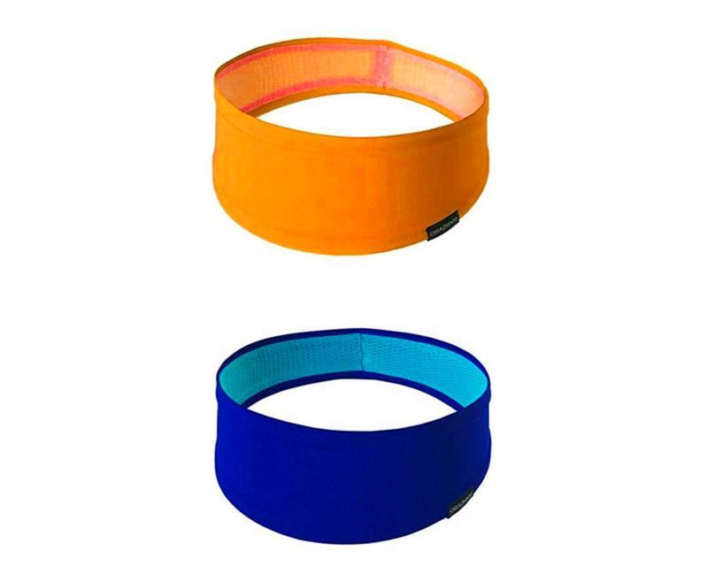 Набор спортивных повязок OSIAZHNYI 2 шт. Оранжевый/Синий - фото 1