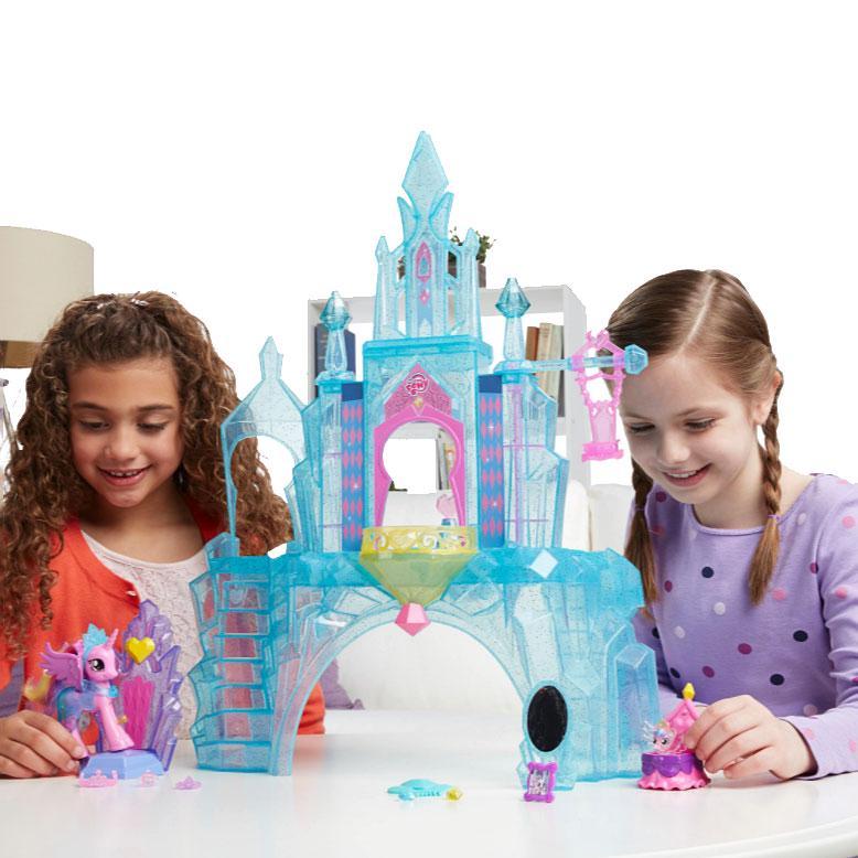Ігровий набір фігурок Кристалічний замок My Little Pony (BR27792) - фото 5
