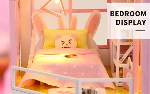 3D Румбокс CuteBee DIY DollHouse Перша любов (M915) - фото 6