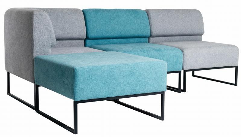 Диван Модульний Lounge Блакитний/Сірий (rich10221) - фото 1