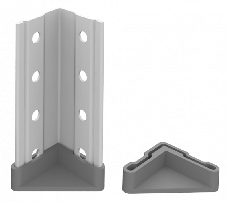 Стеллаж металлический 5х120 кг/п 2500х1000х300 мм на болтовом соединении - фото 4