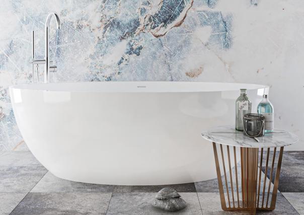Ванна з штучного каменю Miraggio Madonna 180x80 см - фото 4