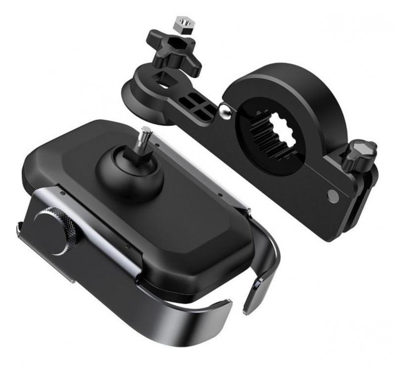 Тримач для мобільного телефона Baseus Armor Motorcycle holder Чорний (SUKJA-01) - фото 4