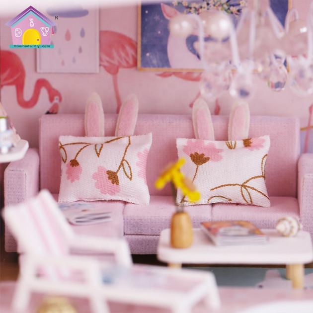 3D Румбокс CuteBee DIY DollHouse Перша любов (M915) - фото 5