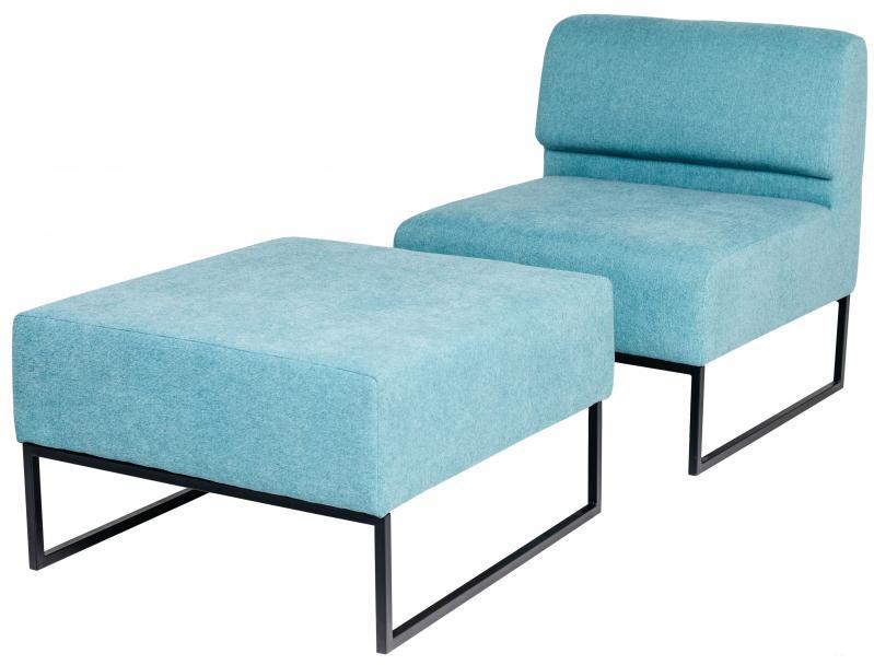 Диван Модульний Lounge Блакитний/Сірий (rich10221) - фото 5