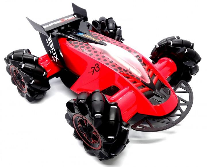 Трюкова машинка Drifter Turbo Air Released на радіокеруванні з підсвічуванням Червоний - фото 3