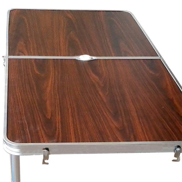 Набор мебели для пикника Folding table Коричневый (5464) - фото 2