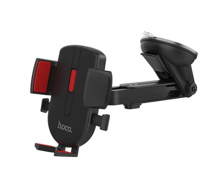 Автомобільний тримач HOCO CAD01 для телефону Чорний - фото 2