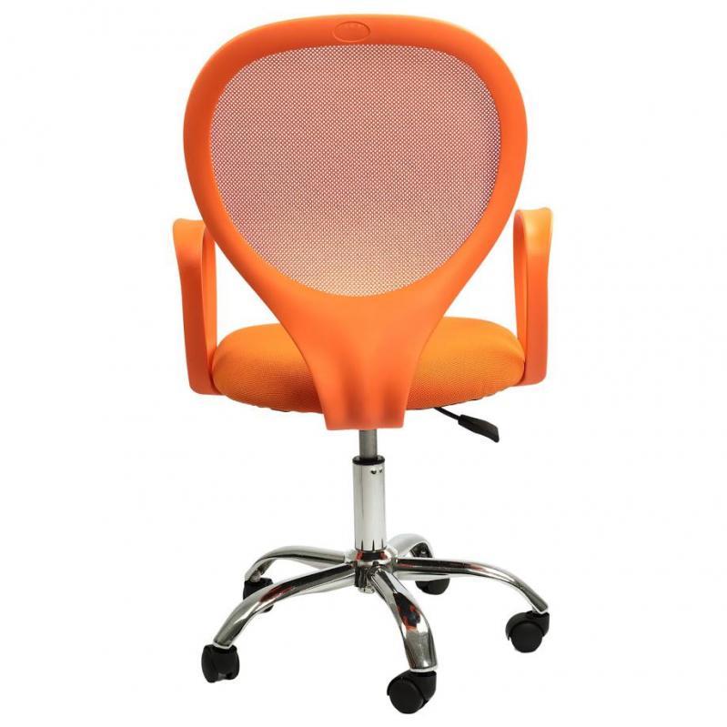 Офисное кресло Sector Helios Оранжевый (KR03) - фото 4