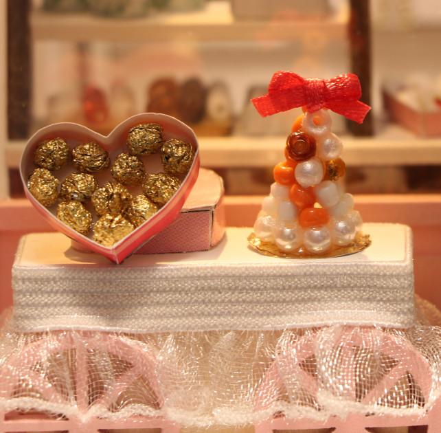 3D Румбокс CuteBee DIY DollHouse Шоколадниця (V358SD) - фото 8