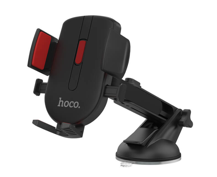 Автомобільний тримач HOCO CAD01 для телефону Чорний - фото 1
