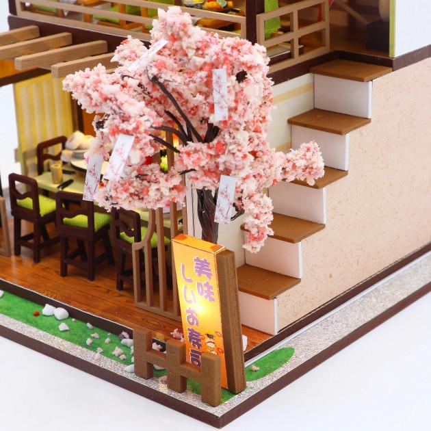 3D Румбокс CuteBee DIY DollHouse Суші-ресторан (G306) - фото 10