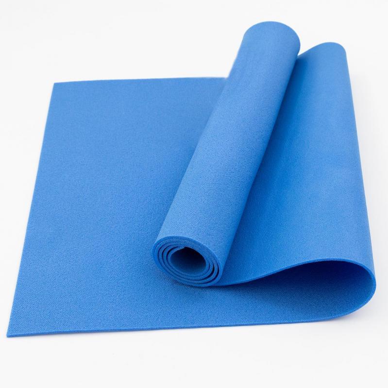 Килимок для йоги та фітнесу OSPORT FI-0077 Колібрі Синій - фото 1