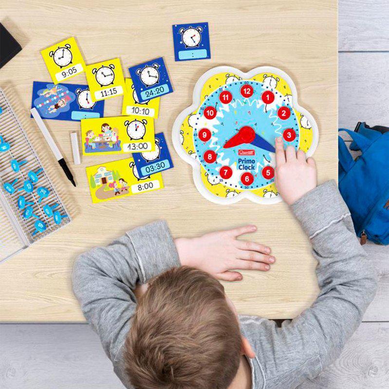 Навчальний ігровий набір Quercetti серії Play Montessori Перший годинник - фото 4