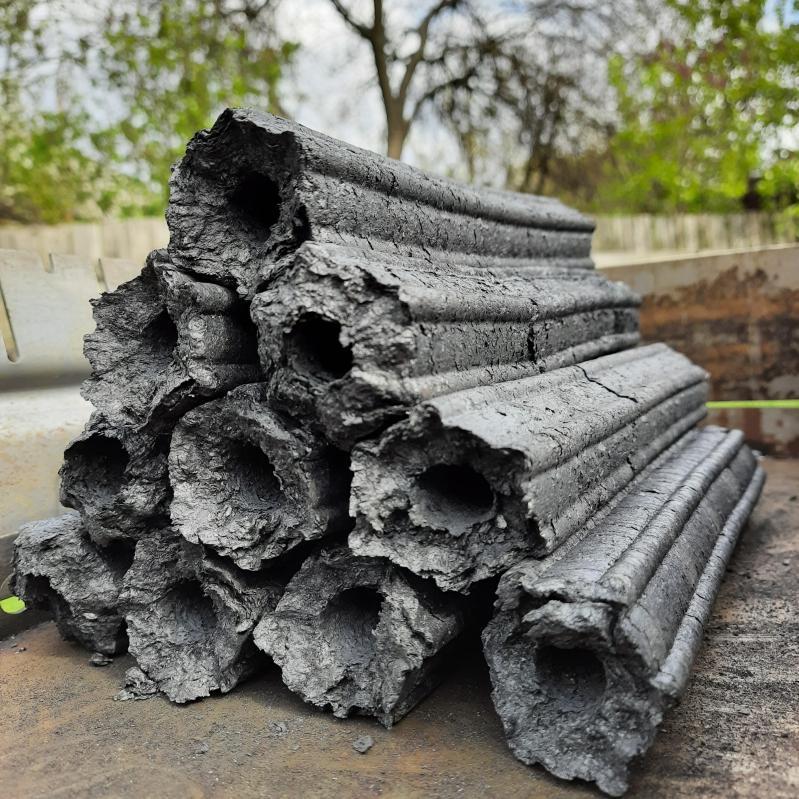 Топливные дерево-угольные брикеты для мангала и гриля Pini Kay 10 кг - фото 1