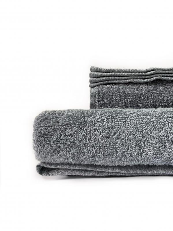 Простынь махровая Dokma 440 г/м² 155x220 Серый - фото 1