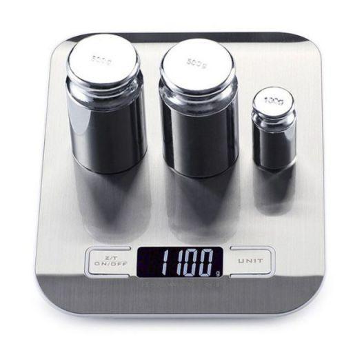 Весы кухонные с металлической платформой Kitchen SF-2012 до 5 кг - фото 3