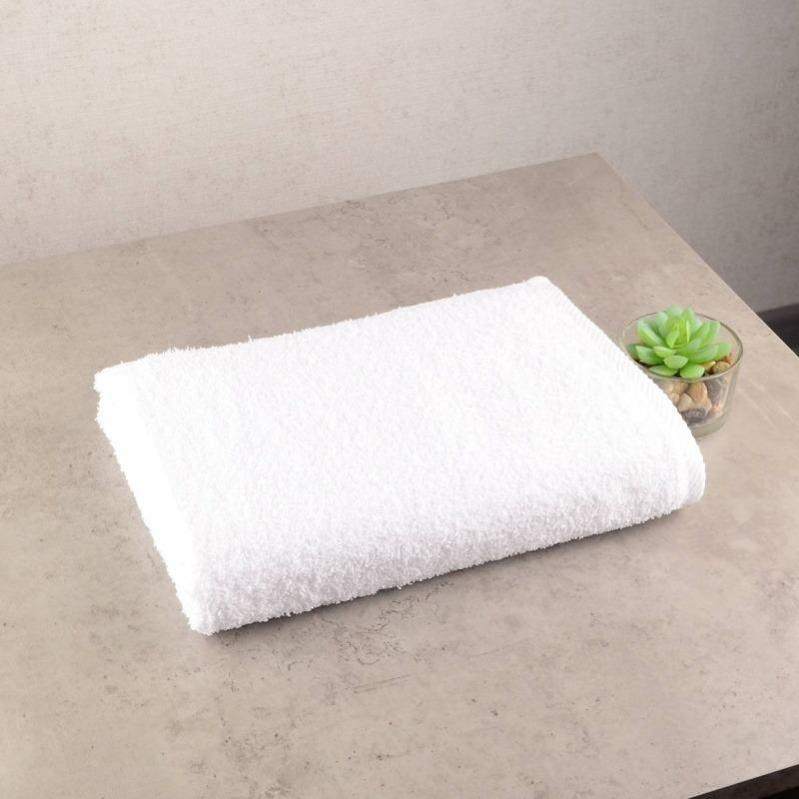 Набор махровых полотенец GM Textile 50х90/70х140 см Белый - фото 3