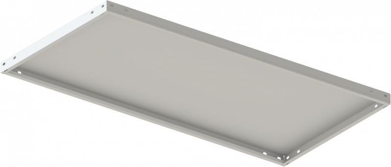 Стеллаж металлический 5х120 кг/п 2500х1000х300 мм на болтовом соединении - фото 2