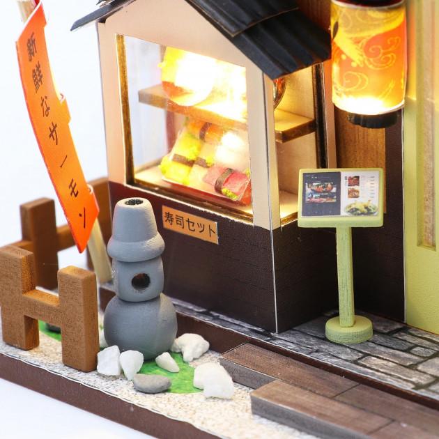 3D Румбокс CuteBee DIY DollHouse Суші-ресторан (G306) - фото 8