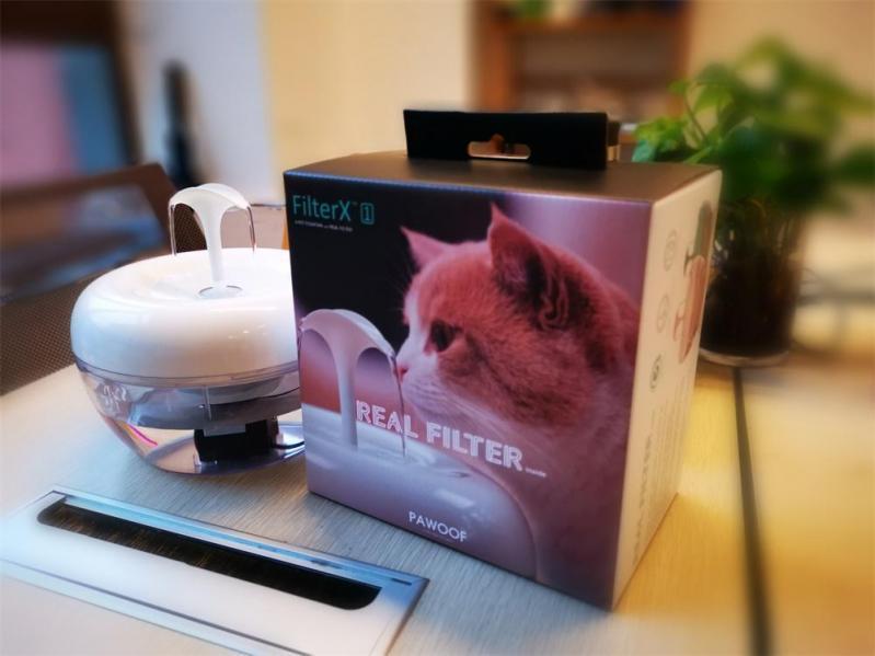 Автоматична поїлка-фонтан для кішок Pawoof X1 Білий - фото 8