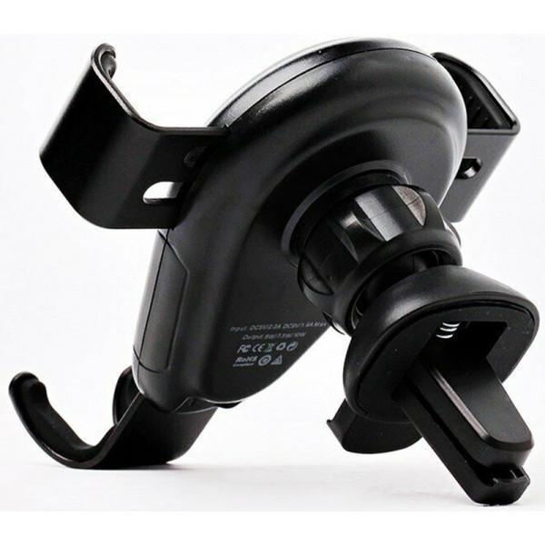 Тримач Awei CW3 Wireless Car Holder Black (F_109292) - фото 4