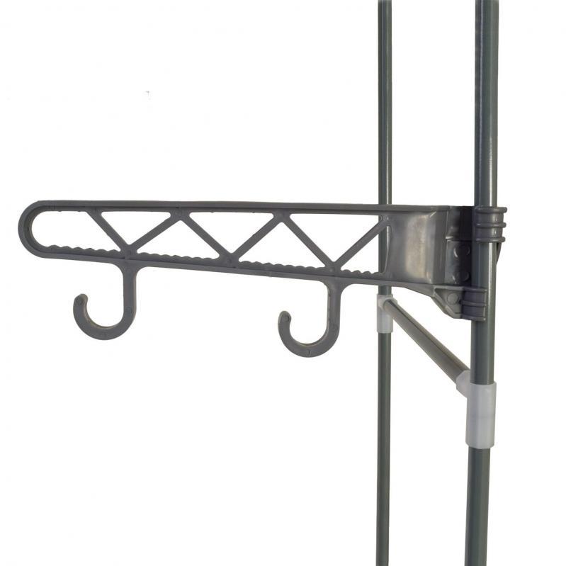 Підлогова вішалка для одягу з полицями Supretto (5936) - фото 2