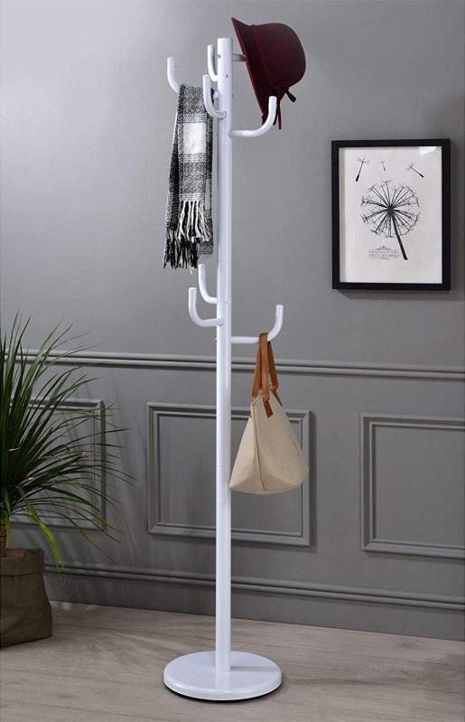 Вешалка-стойка для одежды Белый (CH-4464 BK) - фото 2