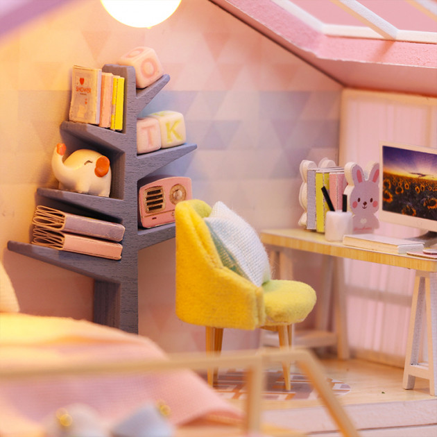 3D Румбокс CuteBee Sweet Time DIY DollHouse (M2001) - фото 5