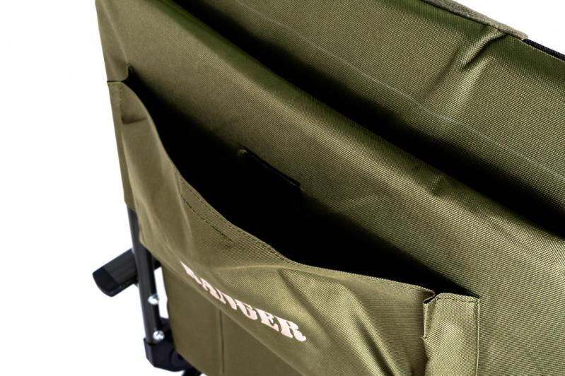 Кресло карповое раскладное для отдыха Ranger 70х97х104-115 см - фото 5