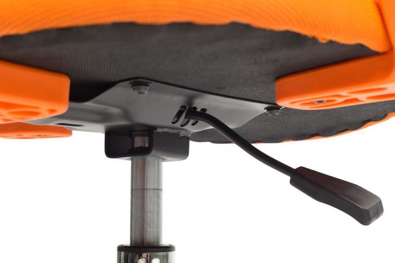 Офисное кресло Sector Helios Оранжевый (KR03) - фото 10