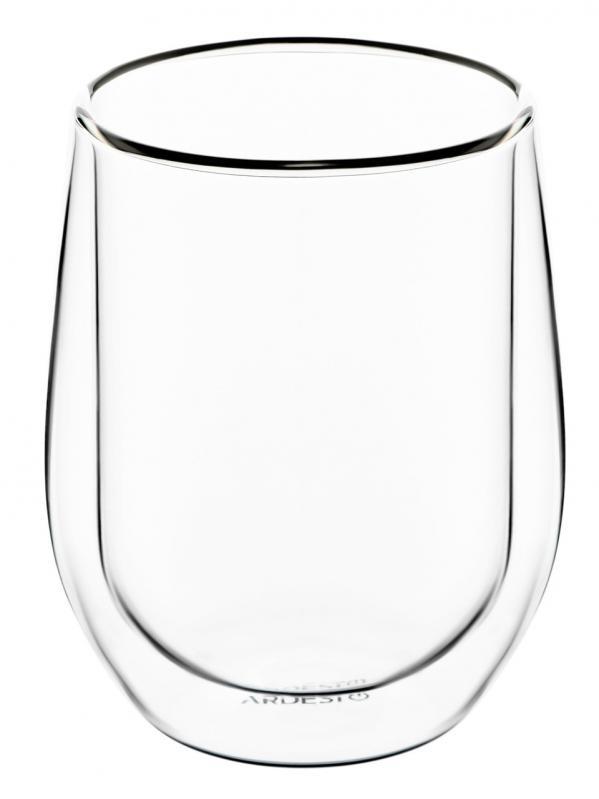 Набор чашек для латте Ardesto с двойными стенками стекло 250 мл 2 шт. (AR2625G) - фото 2