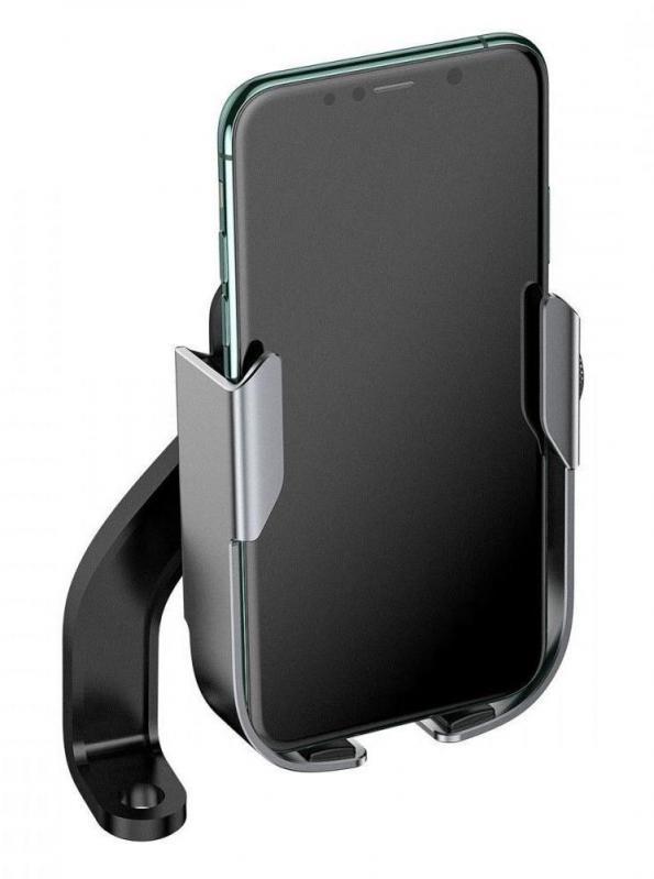Тримач для мобільного телефона Baseus Armor Motorcycle holder Чорний (SUKJA-01) - фото 3