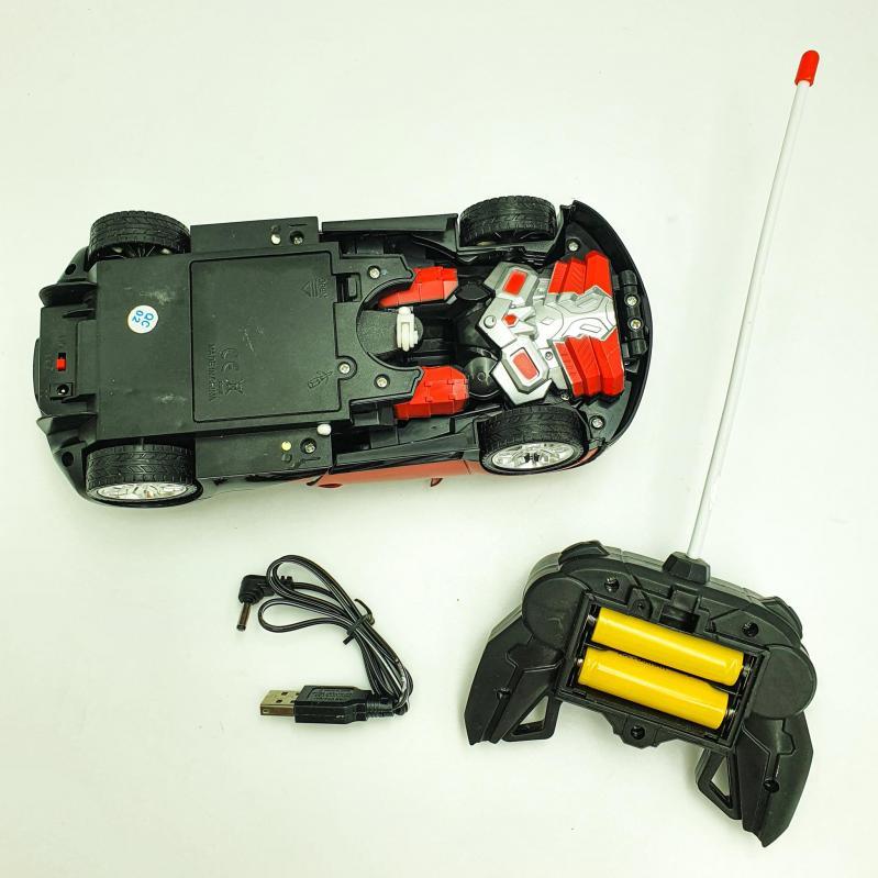 Трансформер акумуляторний на радіокеруванні 22 см UKC Deformation Червоний (31172d02) - фото 3