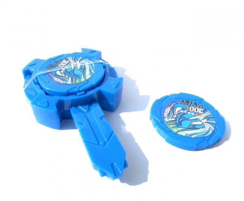 Іграшка Dabitoy Ліга Вотчкар машинка Блюввил і Джин та запускач WatchCar Синій - фото 2