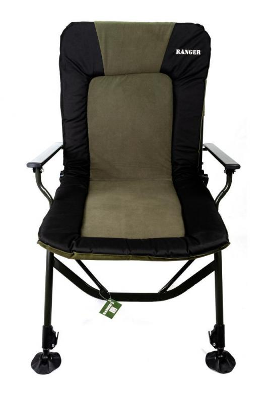 Кресло карповое раскладное для отдыха Ranger 70х97х104-115 см - фото 13