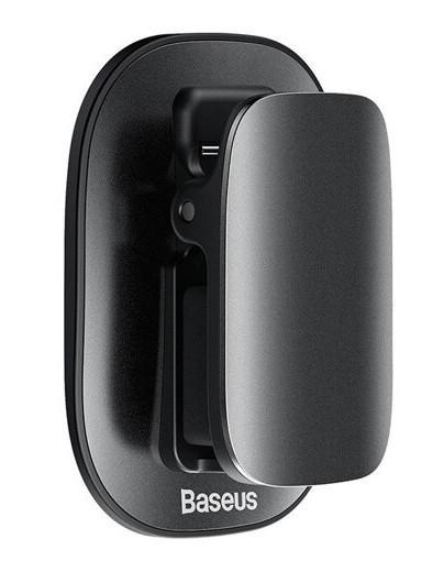 Тримач окулярів в машину Baseus Platinum Vehicle Eyewear Clip Чорний (ACYJN-A01) - фото 1