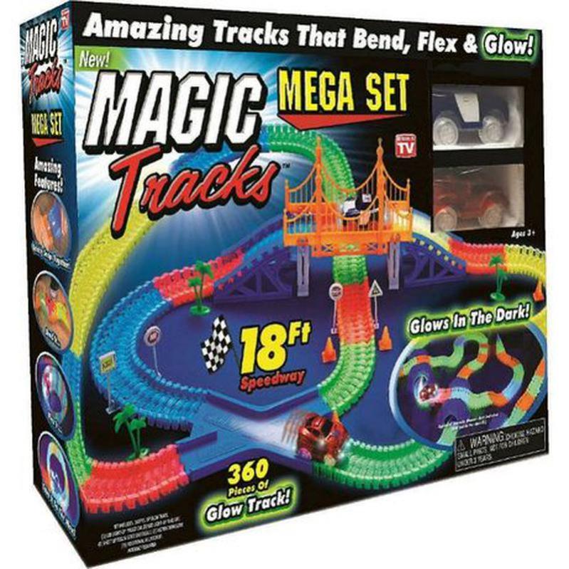 Автотрек UKC Magic Tracks 360 деталей гнучкий - фото 1
