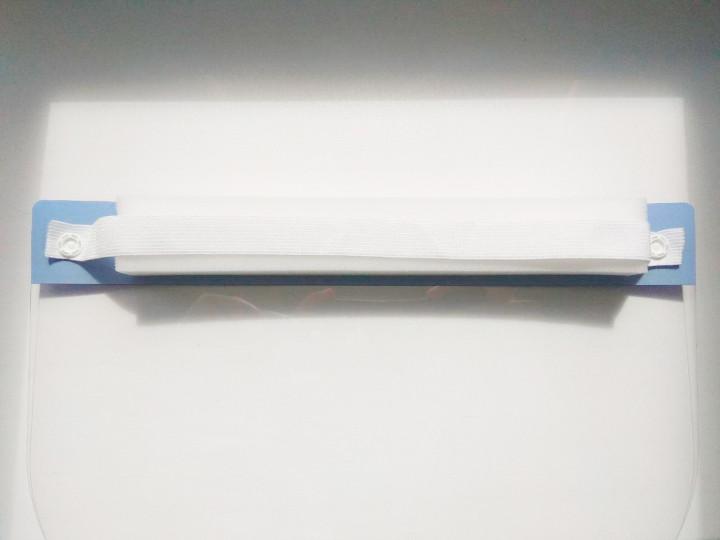 Защитный щиток для лица Face Shield 33х22см Прозрачный 5 шт - фото 4
