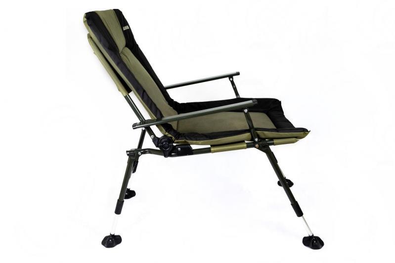 Кресло карповое раскладное для отдыха Ranger 70х97х104-115 см - фото 10