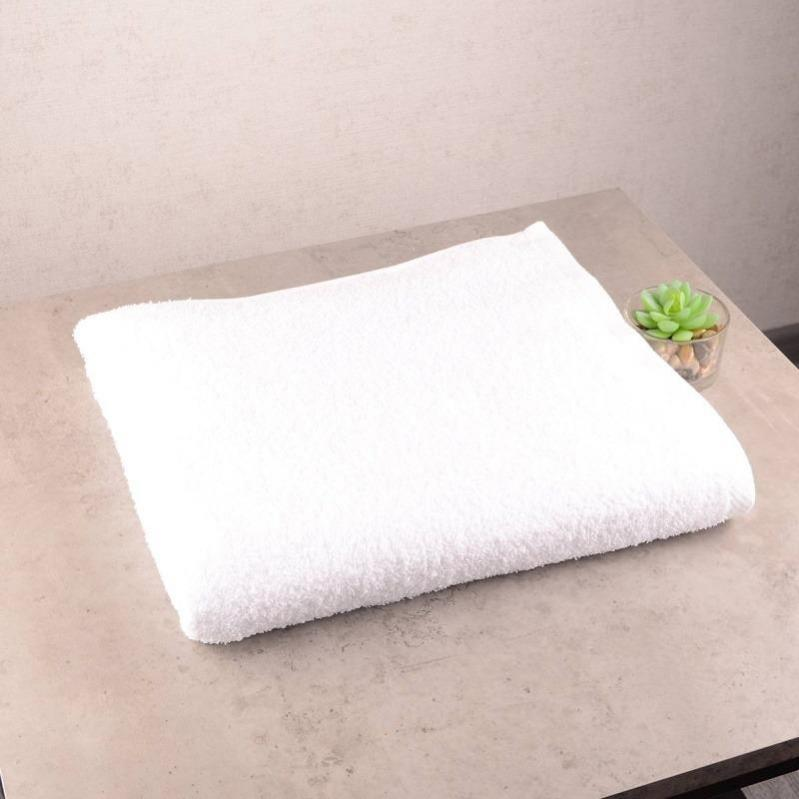 Набор махровых полотенец GM Textile 50х90/70х140 см Белый - фото 2