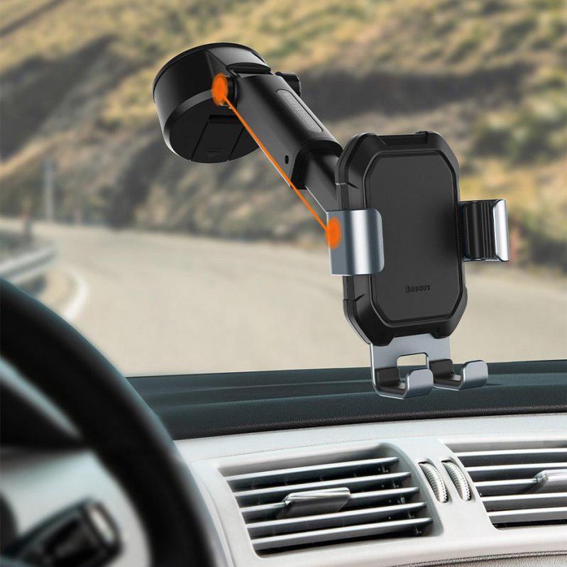 Автотримач Baseus fun journey backseat lazy bracket автоматичний (SUYL-TK0S) - фото 3