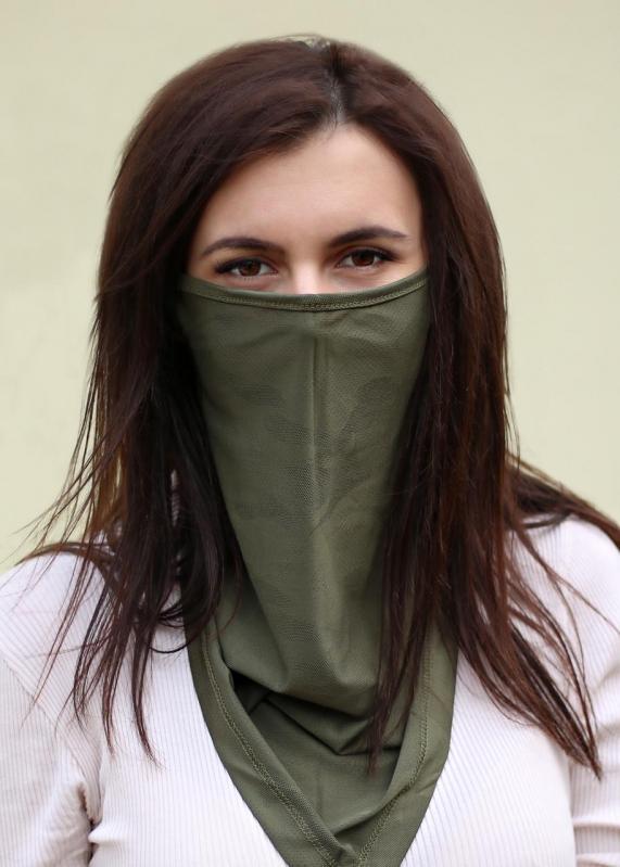 Бафф-маска Copper Зеленый хаки (buff-004-1) - фото 3