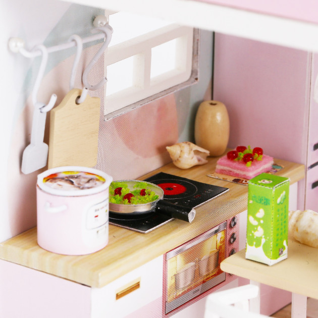 3D Румбокс CuteBee DIY DollHouse Перша любов (M915) - фото 9