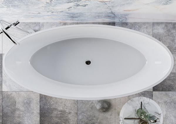 Ванна з штучного каменю Miraggio Madonna 180x80 см - фото 5