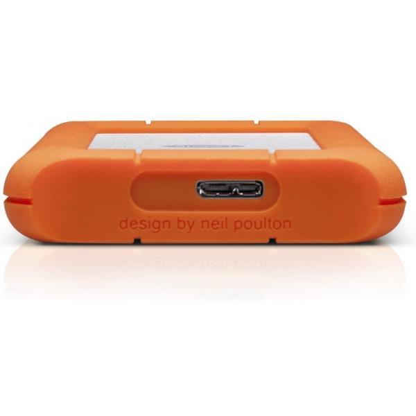 Жесткий диск LaCie USB 2TB (9000298) Rugged Mini - фото 4